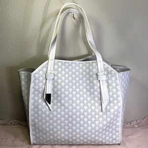 Foley & Corinna Tye Perforated Leather Tote Bag